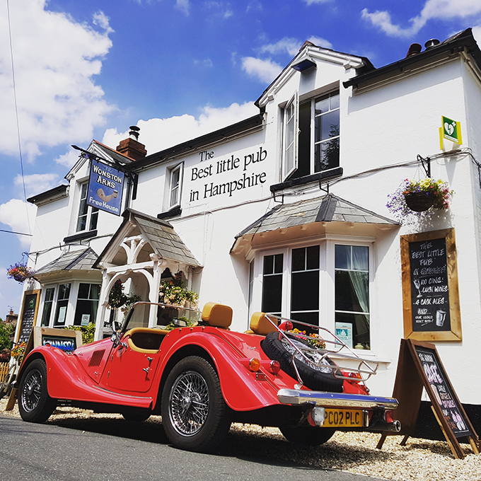 Wonston Arms, Wessex, Good Pub Guide. Best pubs in Britain, CAMRA, Campaign for Real Ale