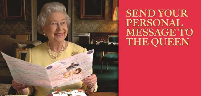 Your personal message to the Queen - article
