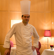 Jerome Ponchelle, head chef at The Capital