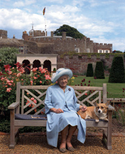 The Queen Mother at Walmer Castle