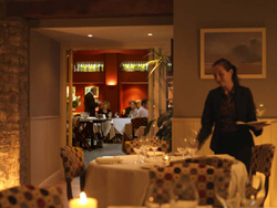Fine dining at Feversham Arms