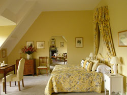 One of the individually designed bedrooms