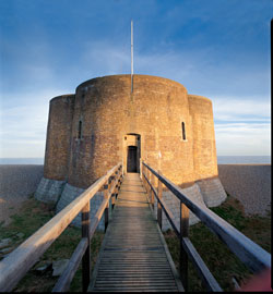 A martello tower in Suffolk
