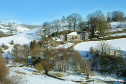 Winter wonderland at Pen-y-Dyffryn