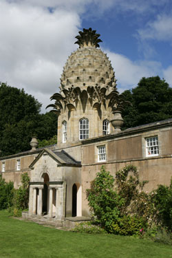 The Pineapple summerhouse near Falkirk