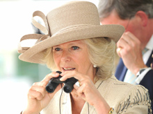 The Duchess of Cornwall at Epsom