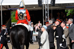 HM The Queen at the Windsor Horse Show