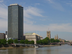 Altitude 360 is on the top floor of the Millbank Tower in Westminster
