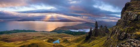 Emmanuel Coupe's Sunrise over the Old Man of Storr, Isle of Skye, Scotland