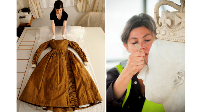 Historic Royal Palaces conservators