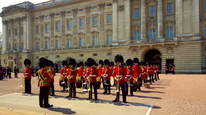 The Changing of the Guard ceremony