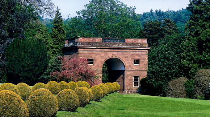 The Triumphal Arch in rural Herefordshire