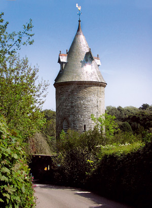 The Water Tower in Cornwall