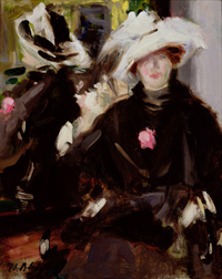Francis Cadell's The Feathered Hat