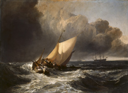 Turner Dutch Boats in a Gale large