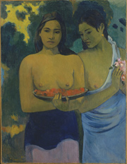 Two Tahitian Women 1899