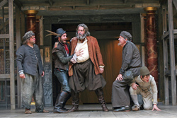 Roger Allan as Falstaff (centre) in Henry IV Part 2