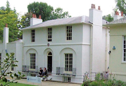 Keats' House in Hampstead