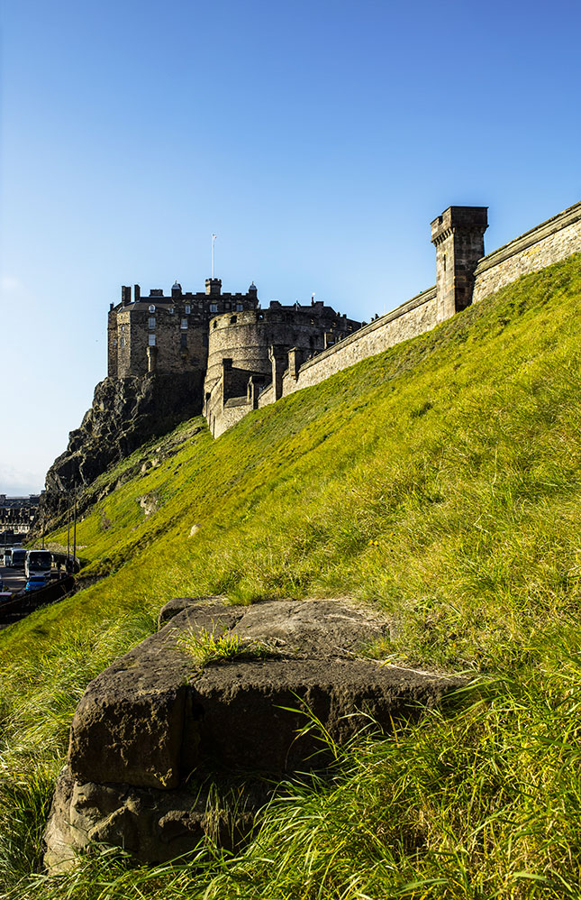 Castle Rock, Edinburgh castle, scotland, edinburgh, castle, palace, casterly rock