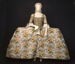 The Fanshawe Dress 1750s at the Museum of London