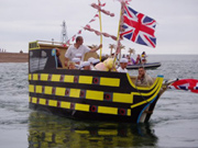 Shaldon flotilla pirates