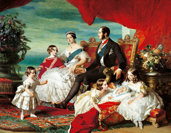 Franz Xaver Winterhalter, The Royal Family in 1846