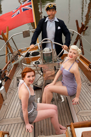 Dress up in vintage nautical style