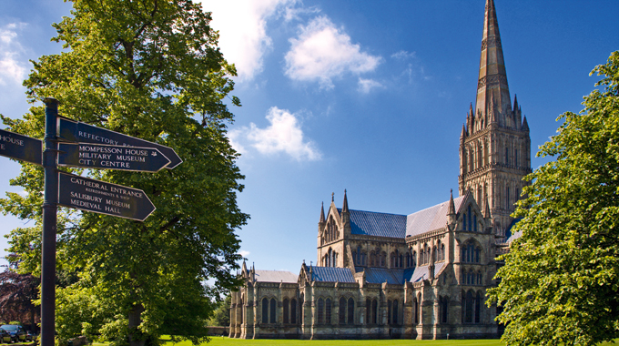 Salisbury Cathedral has been painted by artistic greats including John Constable