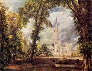 Salisbury Cathedral by John Constable, 1823
