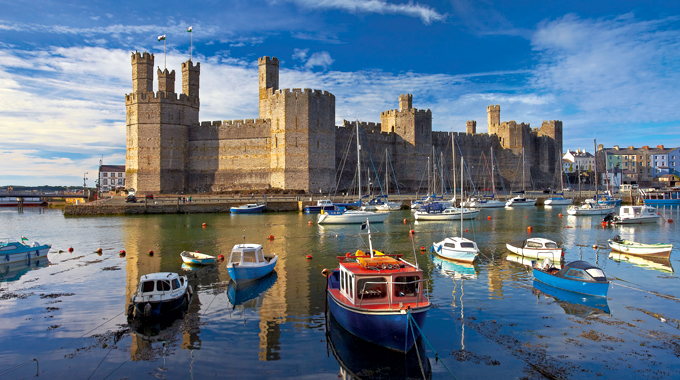 Caernarfon Castle today