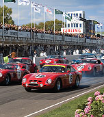 Racing at the Festival of Speed, Goodwood