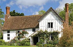Herefordshire's charming medieval manor house Lower Brockhampton
