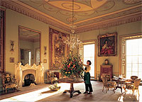 The Tapestry Room at Goodwood House