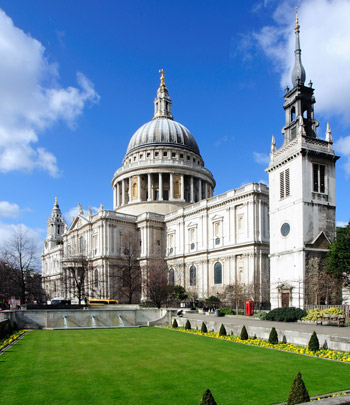 History of London St Pauls