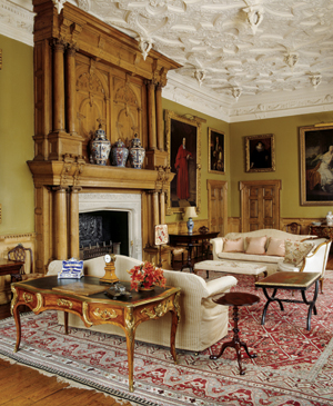 The South Drawing Room at Blickling Hall in Norfolk