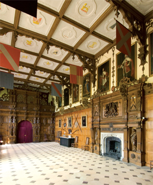 The Grand Hall at Audley End