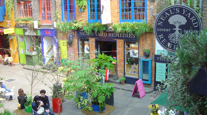 Neal's Yard Covent Garden store