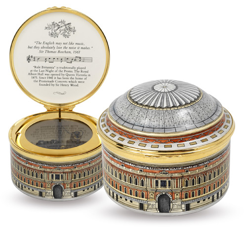 Halcyon Albert Hall music box