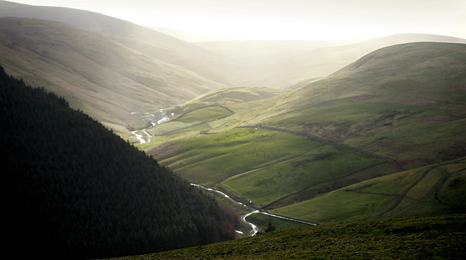 Northumberland National Park is the northernmost national park in England