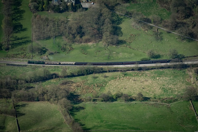 The Keighley and Worth Railway. Credit: Richard Horne on Unsplash