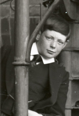 William Churchill at school in Harrow in 1891