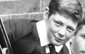 Winston Churchill as a boy