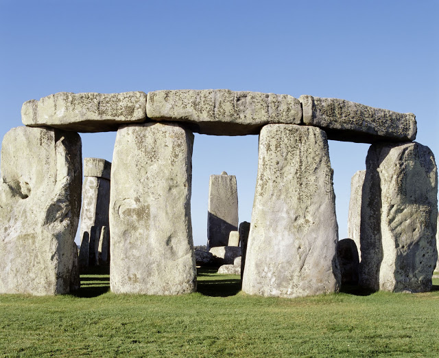 The view of Stonehenge as seen from the north east