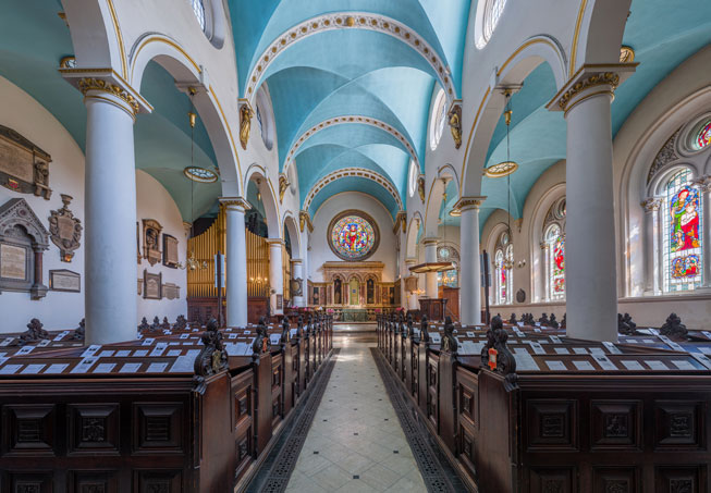 St Michael's in Cornhill, London