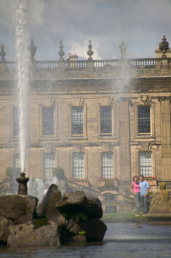 The Emperor Fountain at Chatsworth