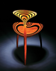 The Trine Chair by John Makepeace