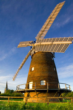 Thaxted Post Mill, built by a local farmer
