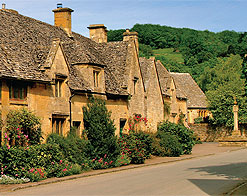 The picture-perfect Cotswold stone village of Stanton