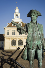 George Vancouver statue at King's Lynn