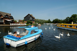 Wroxham on the Norfolk Broads